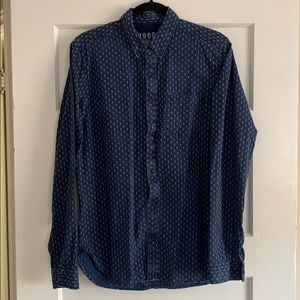 Indigo Gap 1969 Men's Shirt